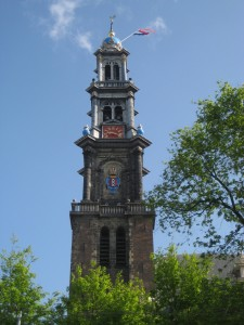 Luxury Travel Writer Nancy D. Brown, Wester Church, Amsterdam, Netherlands, Anne Frank