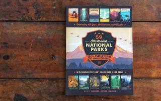 book, 59 Illustrated parks, national park service