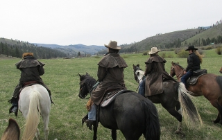 Triple Creek Ranch, cattle drive, Rocky Mountain Rendezvous