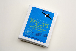 """Ames Walker travel socks"""