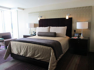 Aria hotel room