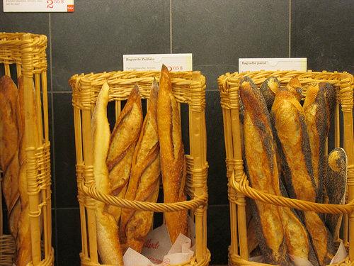 """""""Café-boulangerie Paillard"""", baguettes"""
