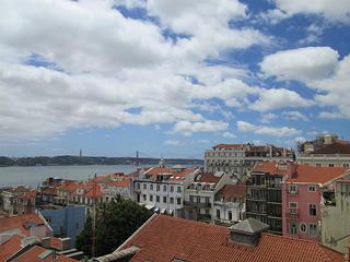 Bairro Alto rooftop, Lisbon, Portugal