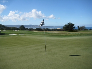 Bayonet black horse, golf, travel, monterey bay, california, nancy d brown