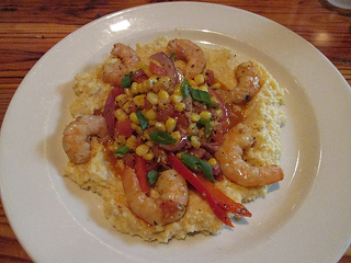 shrimp & grits, boure