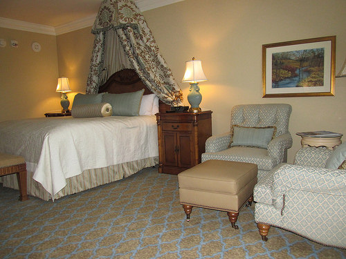 """Broadmoor"" hotel room"