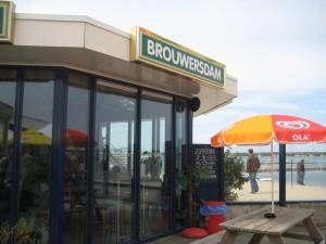 Brouwersdam Surfcentrum, Zeil