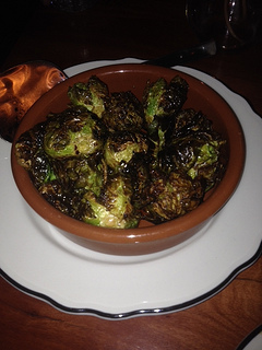 brussel sprouts, Bull Valley Roadhouse