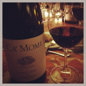 Ca'Momi Reserve Pinot Noir