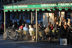 Cafe Du Monde, New Orleans, Louisiana, travel, Nancy D. Brown