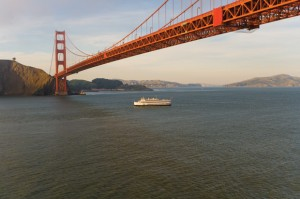 California, Hornblower Cruises, Golden Gate Bridge, Nancy D. Brown, travel