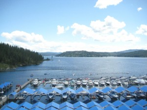Coeur d'Alene Lake, Nancy D. Brown, Travel, Idaho