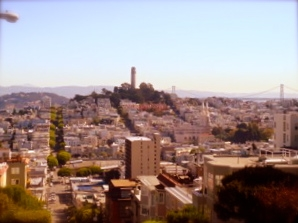 Coit Tower, San Francisco neighborhood, North Beach, Travel, Nancy D. Brown