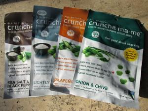 Cruncha ma-me, veggie snack