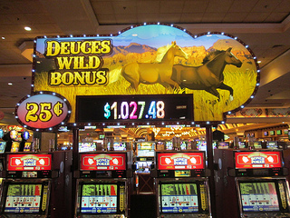 slot machines, South Point Casino, Las Vegas