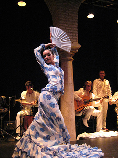flamenco dancer, Esther Vélez