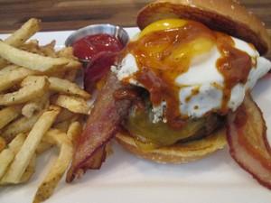 Eureka jalapeno egg burger