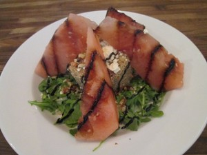 Eureka watermelon salad