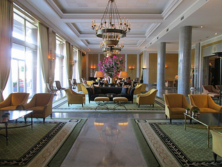 Four Seasons Hotel Ritz Lisbon lobby
