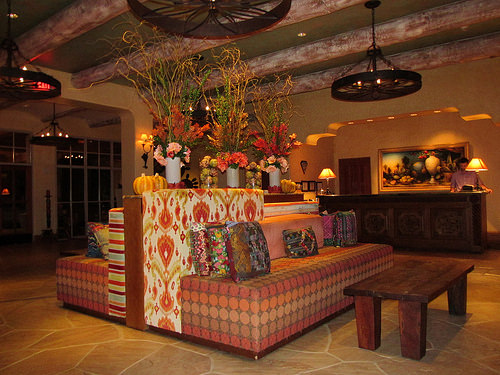 Four Seasons Resort Socttsdale at Troon North, Arizona, hotel lobby