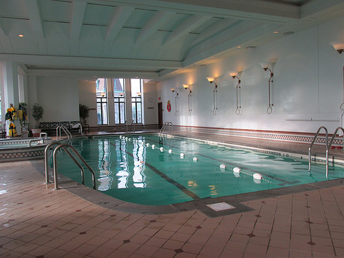"""Fairmont Le Chateau Frontenac"", pool"