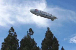 Farmers Airship, Airship Ventures, Zeppelin, Rose Bowl, Nancy D. Brown