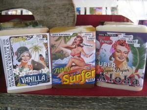 """Filthy Farmgirl Soaps"" ""Hilo Farmers Market"" travel, hawaii"