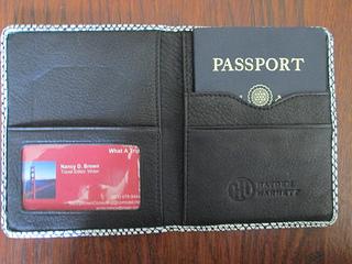 Hayden-Harnett Passport Cover