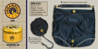 Hobo bag, Urbandillo, Nancy D. Brown, travel gear