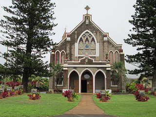 """Holy Rosary Church"" Paia, Maui, Hawaii"