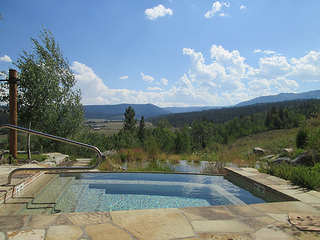 hot tub, Jackson Fork Lodge