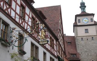 siebers tower, rothenburg ob der tauber, germany