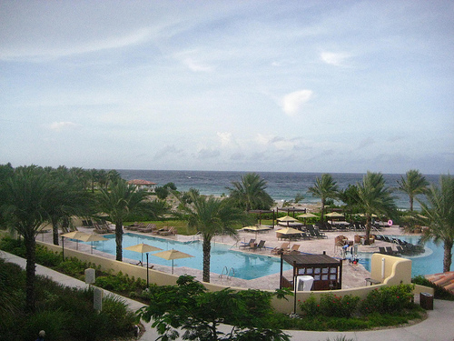 """Hyatt Regency Curacao"" resort, ""Netherlands Antilles"""