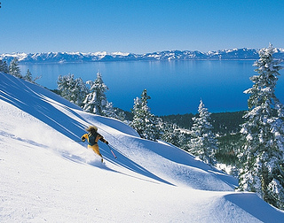 &quot;Lake Tahoe Skiing&quot;