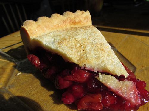 cherry pie, Inn at Cedar Bay, Door County