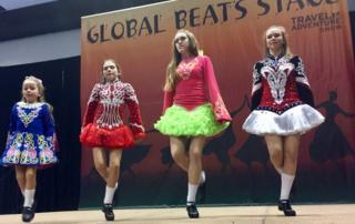 bay area travel & adventure show, irish dancers, ireland, dance