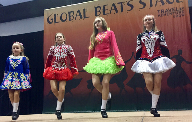 bay area travel & adventure show, irish dancers, ireland, dance