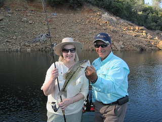 fishing, Lake Oroville
