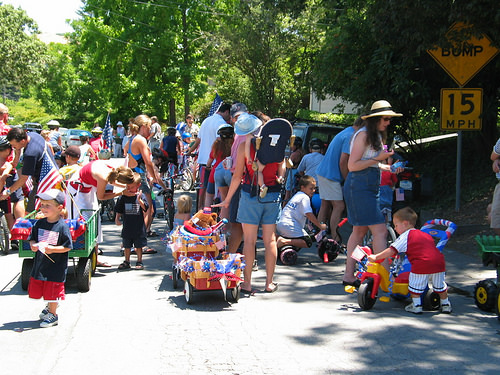 """Fourth of July"" parade"