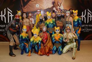 Cirque du Soleil KA cast
