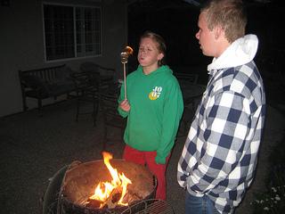 """roasting marshallows"""