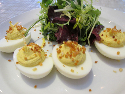 """deviled eggs"" ""Kitchen Door"" napa"