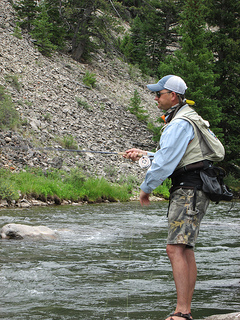 Kurt Dehmer Fly fishing