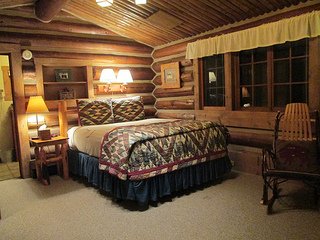 Bald Eagle cabin, Lone Mountain Ranch