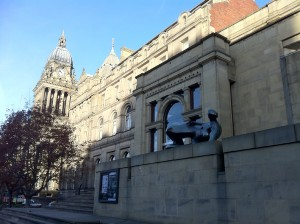 Leeds city art gallery, art, England, travel, Nancy D. Brown