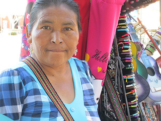 Loreto, Mexico woman