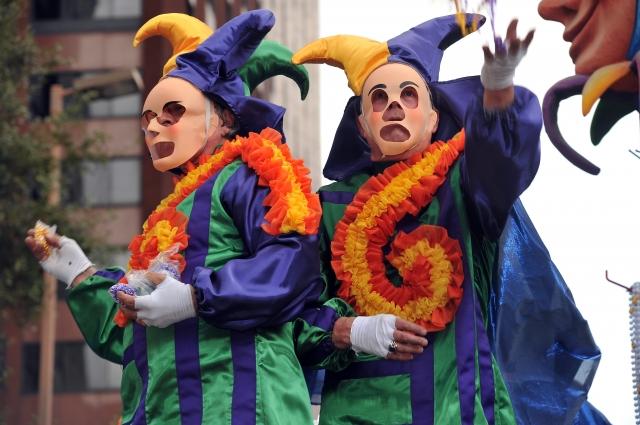 New Orleans Mardi Gras Costumes