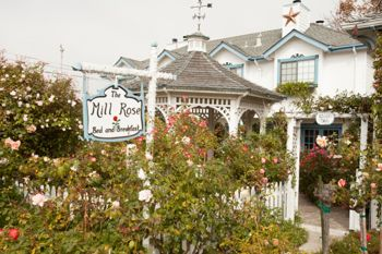 Incurably Romantic — the Mill Rose Inn in Half Moon Bay, California