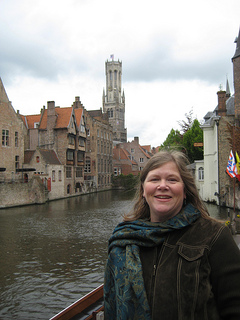"""Nancy D Brown Bruges Belfry"""