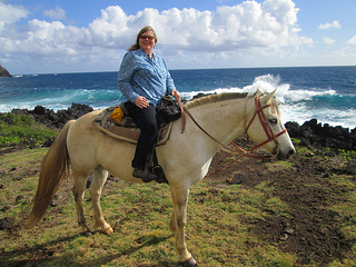 """Hana horseback riding"""